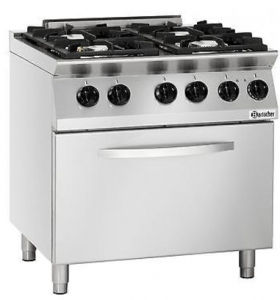 Great Four Burner Range With Oven